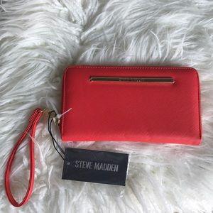 Steve Madden Bzippy Coral wallet